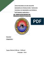 EL AMPLIFICADOR DE TRANSCONDUCTANCIA