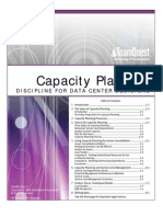 Capacity Planning Discipline for Data Centers