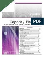 Capacity Planning Discipline for Data Centers