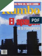 REVISTA RUMBO- 190