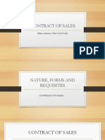 Business Law - Contract of Sales