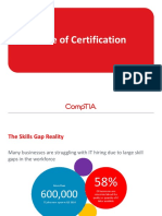 Value of Certification_ Final