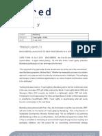 Tread Lightly - Final Press Release