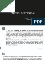 Control de Personal