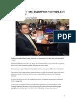 1MDB-PAC Press Reports