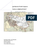Leadership and Ghenggis Khan