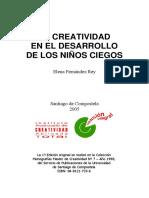 Educreate. Elena Fernandez Rey. La creatividad el desarrollo de los niños ciegos.pdf
