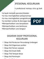 Sikap Profesional Keguruan - Copy