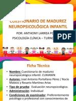 Cuestionario de Madurez Neuropsicológica Infantil