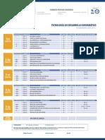 Plan Estudios Tecnologia Desarrollo Informatico