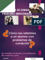Problemas de Conducta y Problema Emocionales