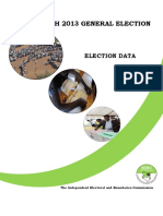Iebc 2013 Full Election Report