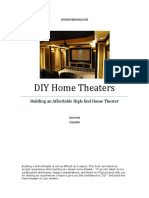 Build an Affordable High End Home Theater Part 1