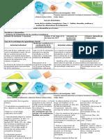 Guía de Actividades y Rubrica de Evaluación- Fase 3.Definir, Describir, Analizar y Evaluar Las Alternativas de Tratamiento
