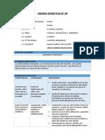 CTA - Planificaci+¦n Unidad 6 - 4to Grado