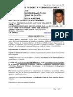 Hoja de vida Omar Valverde en español e ingles colombia