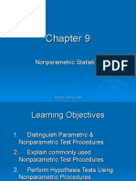Non Parametric Statistics (Basic)