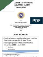Presentasi Leptospirosis Pacitan 2017