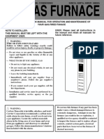 Gas Furnace Manual