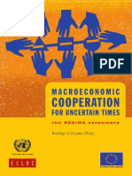 Macroeconomic Cooperation for Uncertain Times Ok