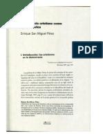 Democracia Cristiana Como Opcion Civica Enrique San Miguel