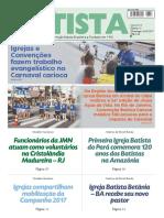 O Jornal Batista Nº 13 - 26.03.2017
