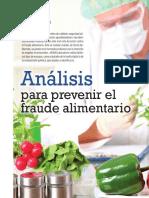 Medidas Contra El Fraude Alimentario- Aenor