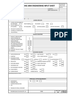Loading Arm Design Datasheet