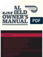 Classic350 Owner Manual Royal Enfiled