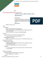 Current Affairs - February 2015 - Tnpsc Guru - Tnpsc Todays Latest News Tnpsc Group 4 Ans Key Cut Off- Tnpsc