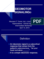 Hypnovations 3 Intermediate IDEOMOTOR SIGNALING and Finger Setup