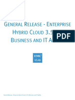 Enterprise Hybrid Cloud 3.5 for Business and IT Agility