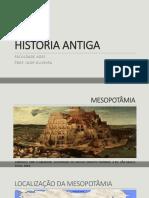 SLIDE HISTÓRIA ANTIGA