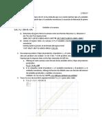 Ejercicios de Matematica, aplicados a economía