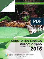 Lingga Dalam Angka 2016