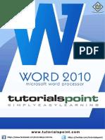 Word Tutorial