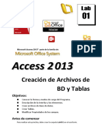 Lab01 2013 Crear Base de Datos