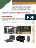 Acoustic foams.pdf