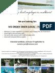 IVD Order Taker (Local - Female)