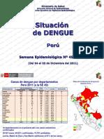 Situación Perú Dengue