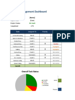 Excel Pm Dashboard Full