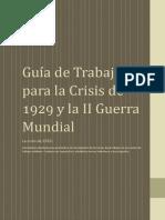 Guía de Trabajo Crisis de 1929 y II GM