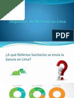 Depositos de Relleno en Lima