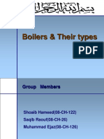 Boilers and Their Types