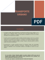Grupo 2 - Transporte Urbano