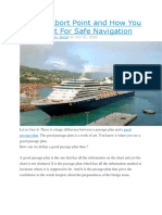 What is Abort Point and How You Can Use It for Safe Navigation