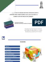 DISEÑO de un molde de inyección de plástico ASISTIDO POR COMPUTADOR (CAD-CAM-CAE) para la fabricación de piezas de Ajedrez