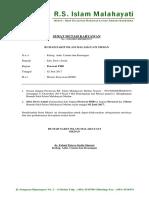Surat Mutasi Karyawan Juni 2017