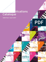 Publications Catalogue From 2017 - OnLINE