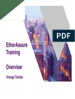 EtherAssure Training - Session 1b- Products-UseCases OTN